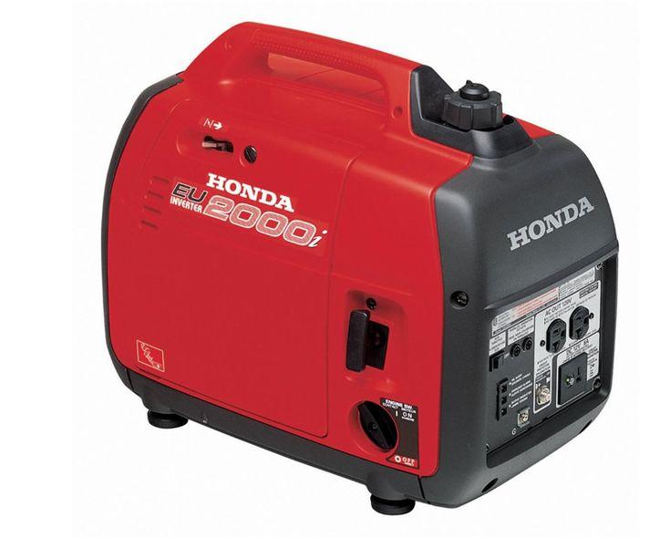 Honda 2000 generator for truck campers