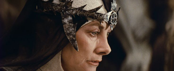 Jean Marsh, this time as Queen Bavmorda from Willow (1988)