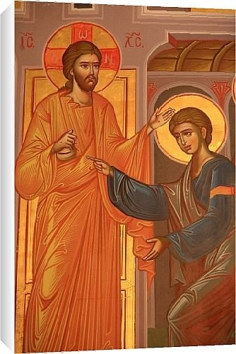 Canvas Prints of Greek Orthodox icon depicting Christ showing his wounds, Thessaloniki, from Robert Harding http://www.amazon.com/Orthodox-depicting-Thessaloniki-Robert-Harding/dp/B006NUZHO0/
