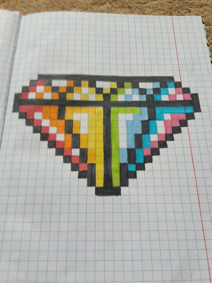 Pixel diamond