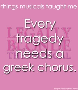 GREEK CHORUUUUUUS <3
