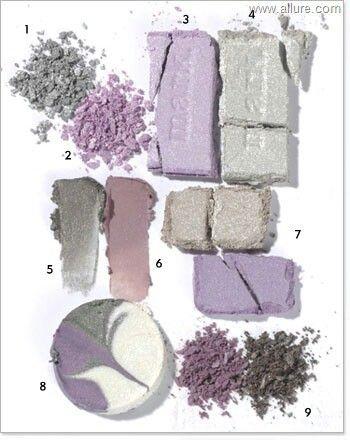 лаванда, серо-сиреневый, нейтрально-серый - варианты СИРЕНЕВОГО и СЕРОГО