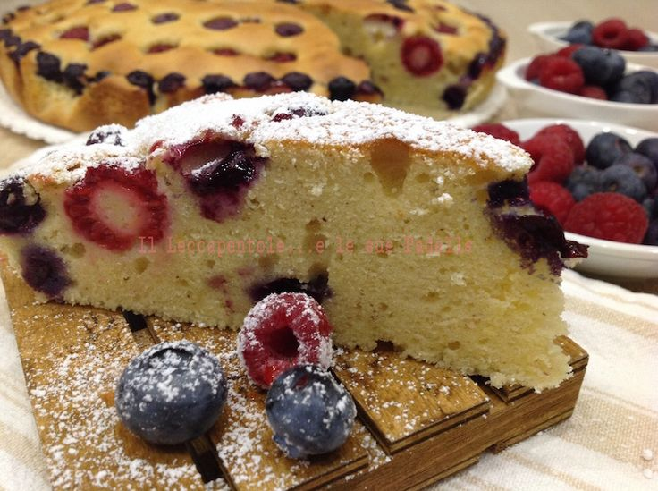 TORTA+GRESSONEY+AI+FRUTTI+DI+BOSCO