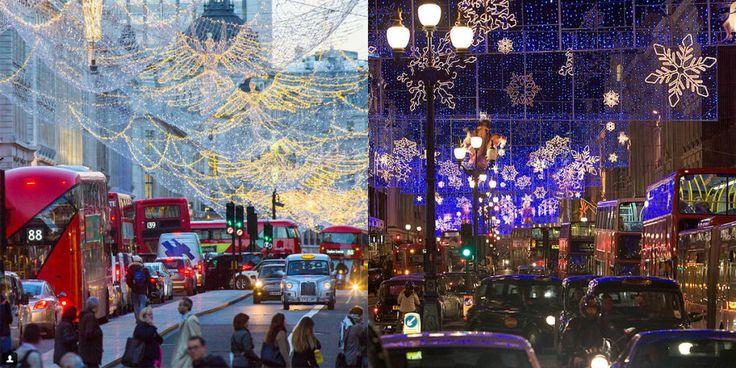 La prova definitiva che Londra ha il Natale più spettacolare che ci sia