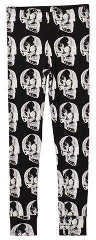 Nununu X-Ray Skull Leggings Black