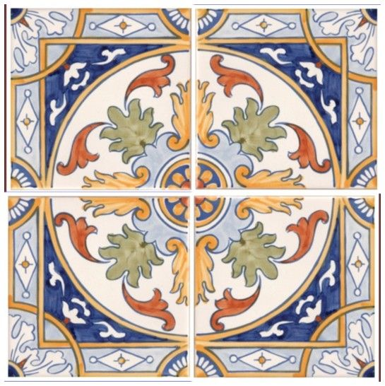 Galleries - A1-Portuguese tiles - 2-Albufeira 4 tile