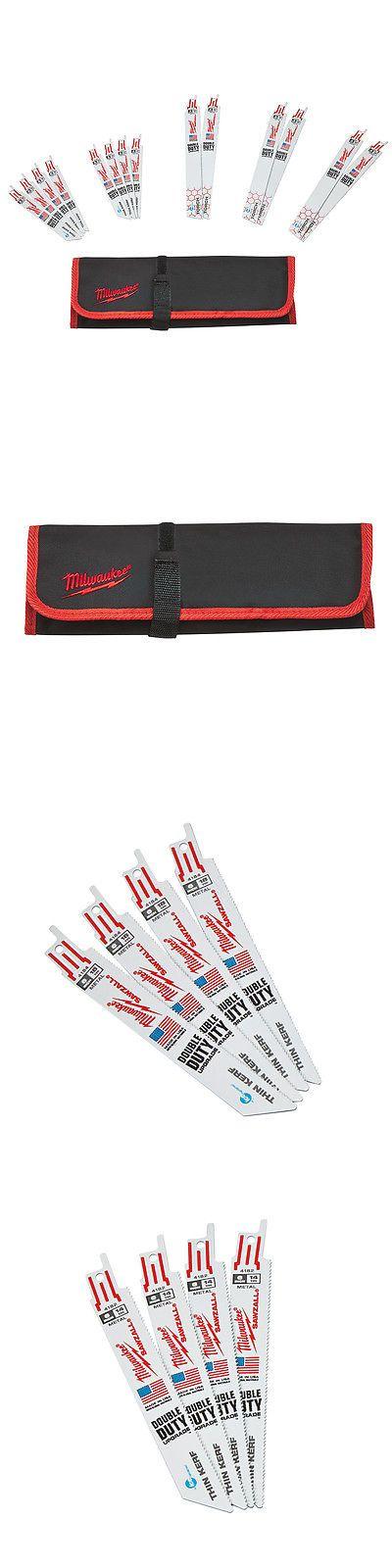 Saw Blades 122837: Milwaukee 49-22-1131 Ice Hardened Bi-Metal Cutting Sawzall Blade Set - 14Pc -> BUY IT NOW ONLY: $37 on eBay!