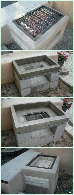 Outdoor Entertaining Area Concrete