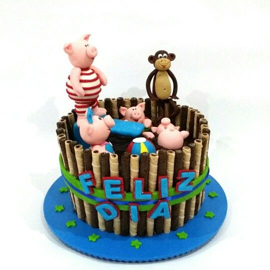 Party pig cake