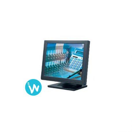 Cet écran 15 pouces peut être ajouté à votre système d'encaissement | Bon rapport qualité prix sur www.waapos.com | Spécialiste de l'encaissement