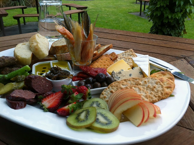 The Church Road Platter is the best I've had in Hawke's Bay