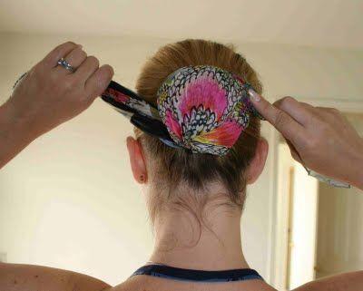 Hair Scarf Tutorial | The Glamorous Housewife
