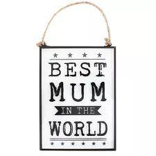 Kitchen Novelty Unbranded Mum Decorative Plaques & Signs | eBay