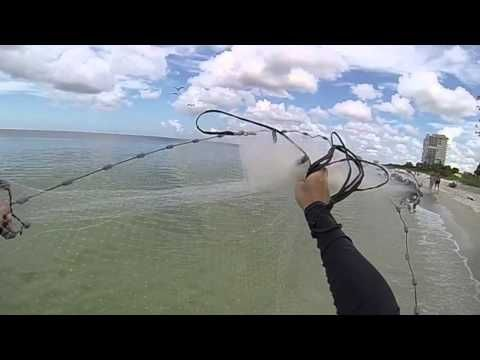 how to cast a cast net instructions