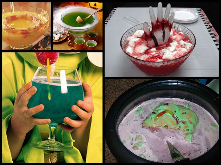 halloween punch recipes for kids