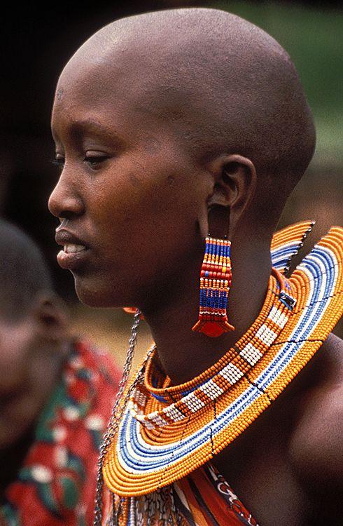 Africa, Masai woman   Faces of the World   © Emilio Scotto