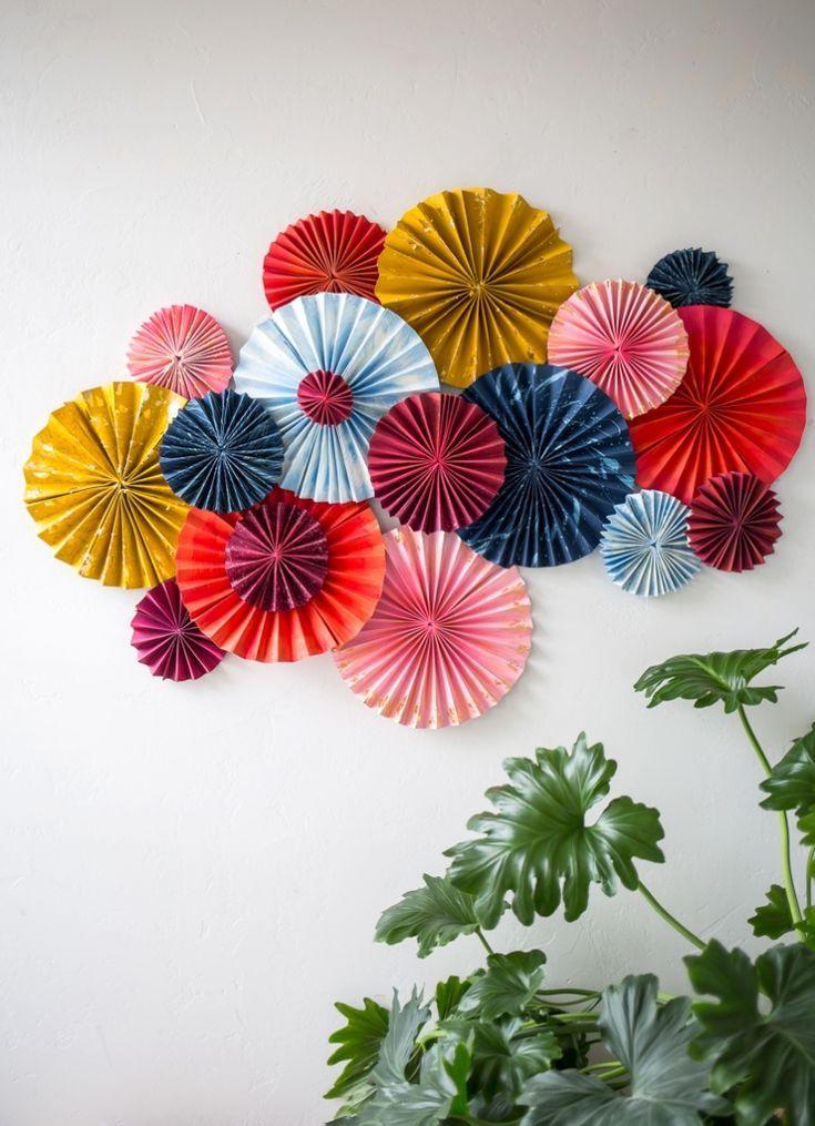 Layered Fan Art Piece The House That Lars Built Paper Wall Art Diy Paper Decorations Diy Paper Wall Decor