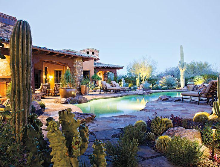 497 best Desert LandscapingOutdoor Spaces images on Pinterest