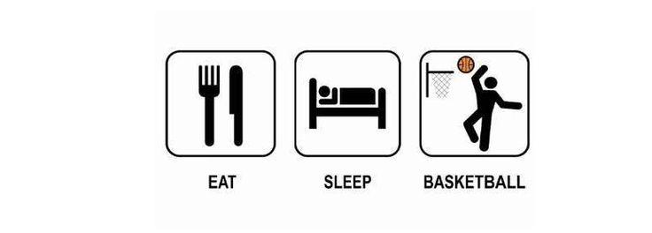 Eat, Sleep and Basketball ♥