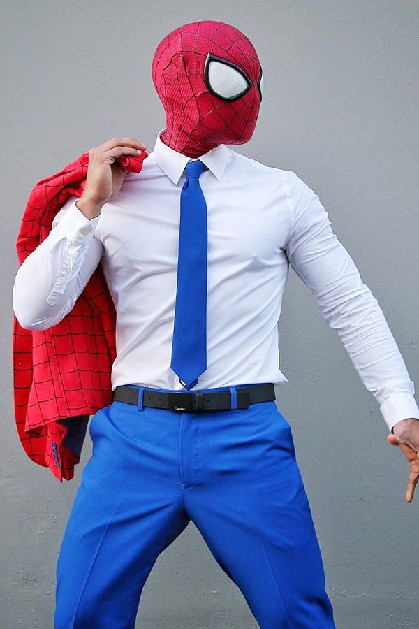 c362da2349310 Spider-Man costume with the official suit from OppoSuits. With great power  comes a great super-hero suit! Dress up like Spider-Man and let your spidey  sense ...