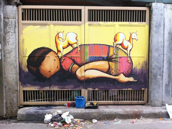 Just Another Artist Kaffeine collaborates in the Philippines