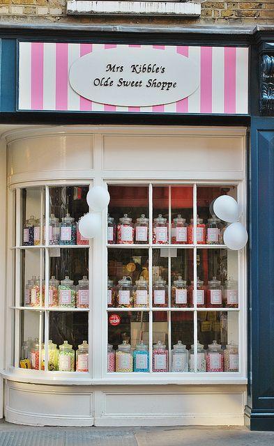 Mrs Kibble's Olde Sweet Shoppe 4 St. Christophers Place, London W1U 1LZ, United Kingdom http://www.mrskibbles.co.uk/our-shops/