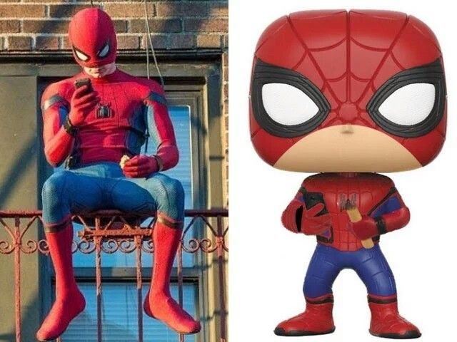 Funko Pop Marvel-Spiderman-LA LUCERTOLA