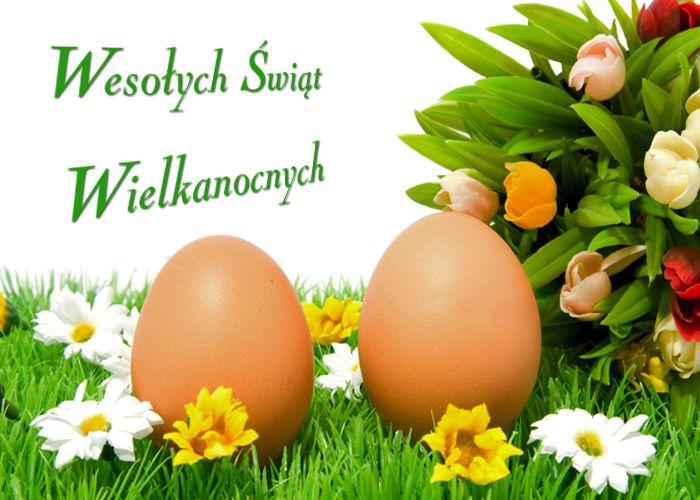 Поздравление с пасхой на польском