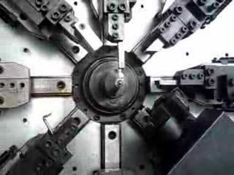 ES50-8A MAX CNC Spring forming machine (a must-watch video)
