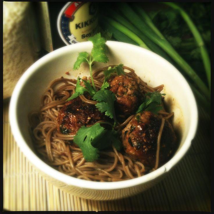 recept Aziatische balletjes met soba noedels koken keuken fod blog