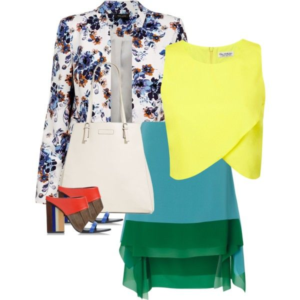 Untitled #235 by leehyena on Polyvore featuring Miss Selfridge, Cédric Charlier, Tory Burch and Vera Bradley