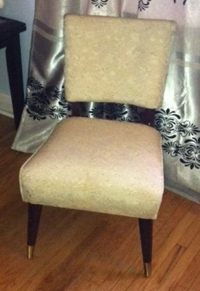 50's Occasional Chair. Selling as is $40.
