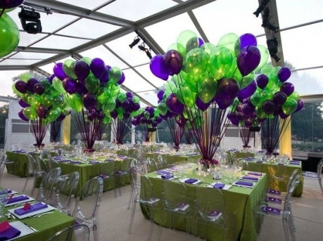 Top 25 ideas about diy balloons on pinterest for Balloon decoration color combinations
