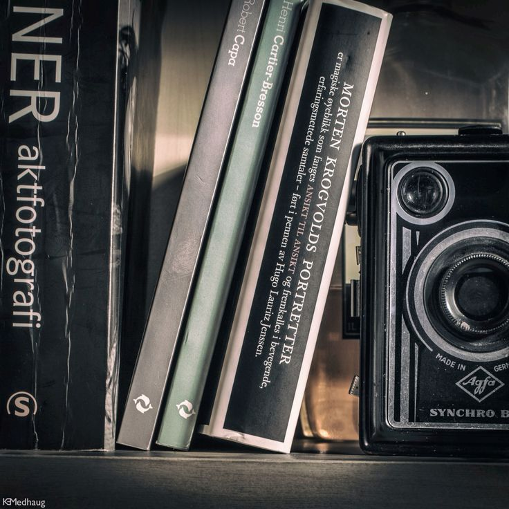 Vintage camera books love