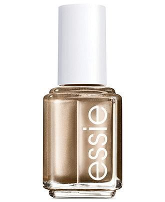 Guaranteed to go gold, Essie Good as Gold nail color