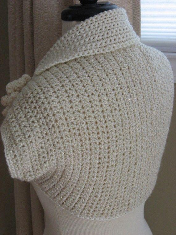 Special Occasion Shrug, crochet pattern pdf | Jacket