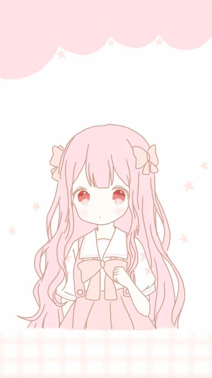 W Nur Fur Charlene Cute Anime Wallpaper Kawaii Anime Pink Wallpaper Kawaii
