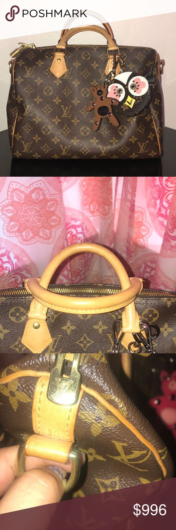 💗FINAL PRICE💗LV SPEEDY BANDOULIERE 30 MONO CA💗 USED JUST 1 MONTH... ITS NOT INCLUDES THE STRAP Louis Vuitton Bags
