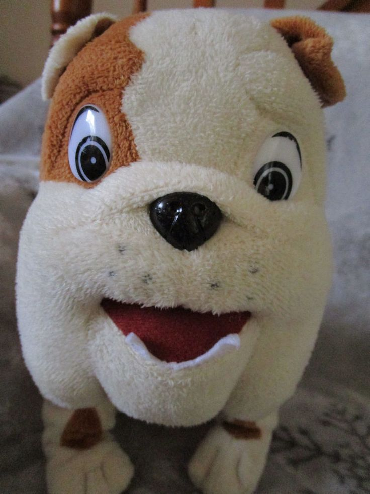 "Collectible CHURCHILL Bull DOG TOY SITTING Car insurance 10"" 25 cm Non speaking #CarInsurance&Cars"