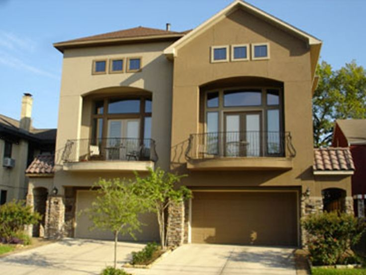 Exterior paint schemes with stucco and stone stucco is a - Exterior materials for buildings ...