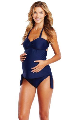 Maternal America Carrie Two Piece Bow Maternity Tankini - Navy - Small Maternal America,http://www.amazon.com/dp/B00J9XBCVK/ref=cm_sw_r_pi_dp_z.nEtb0B2WQS3PW5