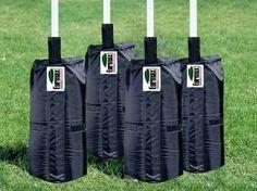 Eurmax Pop up Canopy Tent Leg Weights, 4pcs-Pack Sandbags