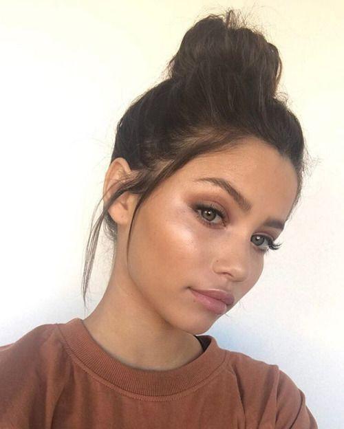 Use a cream highlighter like Ilia Cosmic Dancer for a bronzed strobe