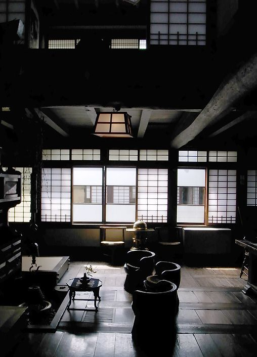 Kawai Kanjiro's House in Kyoto, Japan.  Kawai Kanjiro (passed away 1966) was a Japanese potter and a key figure in mingei (Japanese folk art) and studio pottery movements.