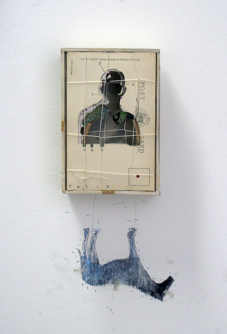 Glen Skien | 'you can't look at yourself in the ocean' series, wall assemblages