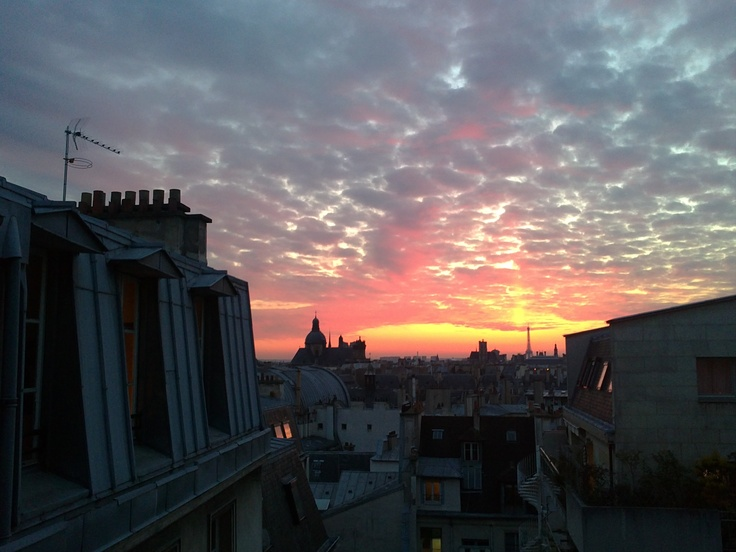 Home sweet home, Paris, 2011