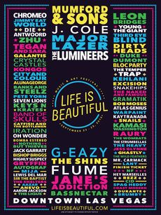Gearing up! Life Is Beautiful Festival 3-Day Pass - Tickets - Life Is Beautiful - Las Vegas, NV, September 23, 2016   Ticketfly.