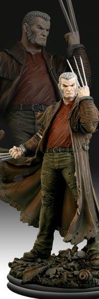 Wolverine Old Man Logan  Polystone Statue