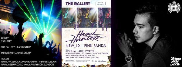THIS FRIDAY - The Gallery: Headhunterz @ Ministry of Sound