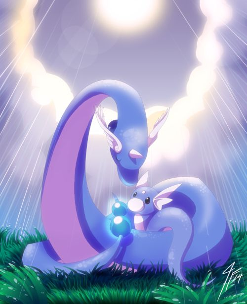 Dratini and Dragonair                                                                                                                                                                                 More